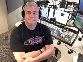Rich Fisher at 98 Rock Baltimore in 2017