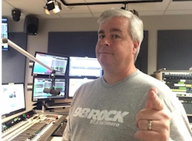 Rich Fisher at 98 Rock Baltimore in 2016