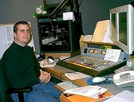 Rich Fisher at WWFG Froggy 99.9 in Salisbury-Ocean City Maryland in 2002