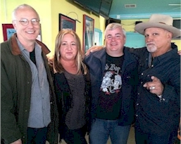 Rich Fisher with Paul Reed Smith and Derek St Holmes in 2015