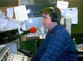 Rich Fisher at WNAV in Annapolis in 1998